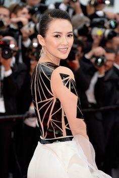 チャン・ツィイー/第67回カンヌ国際映画祭レッドカーペット-(C) Getty Images