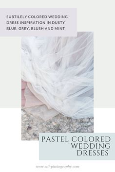 Colored Wedding Gowns, Bridal Outfits, Dusty Blue, Light Colors, Destination Wedding, Designers, Pastel, Couture, Bride