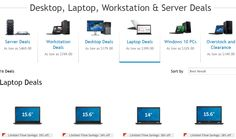 Save 35% on all Dell Latitude laptops, OptiPlex desktops and Precision workstations with coupon code. Free Shipping! The offer ends 02/08/2015.