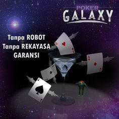 http://www.pokergalaxi.com merupakan salah satu situs poker online uang asli terpercaya di Indonesia. Tanpa Robot dan Tanpa Rekayasa dengan pelayanan memuaskan