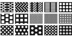 Patterns design of perforated mesh: Rectangular holes, round holes, square holes, diamond holes, triangular holes, cross holes, hexagonal holes and other customized holes etc.