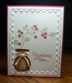 Thinking Of You Cards and Paper Crafts at Splitcoaststampers
