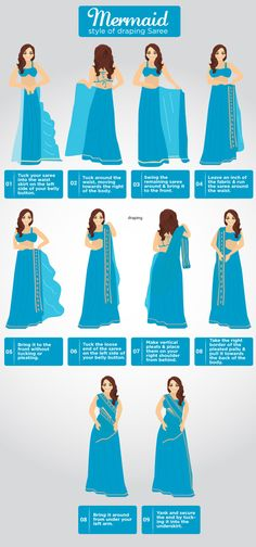 7 Effortless Saree Draping Tutorials That Will Make You Look Like A Pro