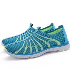Men Sport Shoes Summer Hiking Beach Antiskid Light Hollow Out Casual In Mesh Sale - Banggood.com