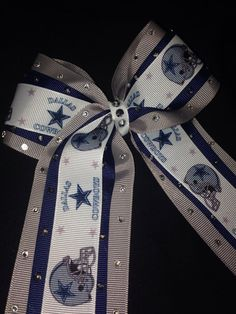 Dallas cowboys bow! on Etsy, $10.00