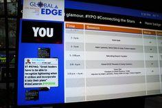KPMG @ YPO 2014 Global EDGE Conference:   YPO Global EDGE display.