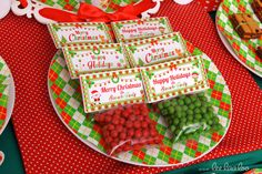 Favors at a Christmas Party #Christmas #partyideas