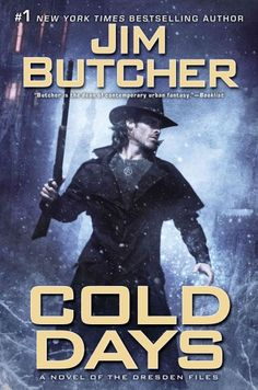 Jim Butcher  The Dresden Files, featuring Harry Dresden, a wizard living in contemporary Chicago, solving magical crimes. An addictive series that just keeps getting better and better...The books in this series consist of:  Storm Front  Fool  Moon  Grave Peril  Summer Knight  Death Masks  Blood Rites  Dead Beat  Proven Guilty  White Night  Small Favor  Turn Coat  Changes  Side Jobs (Short Stories)  Ghost Story  Cold Days
