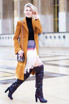 Street Style Trend Report: Fringe Skirts via @WhoWhatWearUK