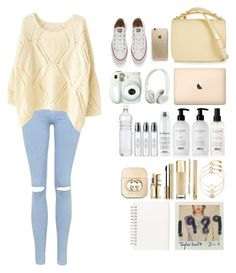 """""""Untitled #38"""" by anemari-hrastnik ❤ liked on Polyvore featuring Topshop, Marni, Beats by Dr. Dre, Rifle Paper Co, Converse, Branca, Balmain, Davines, Byredo and Accessorize"""