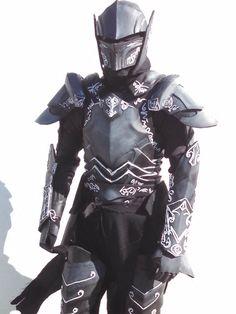Skyrim ebony armor cosplay