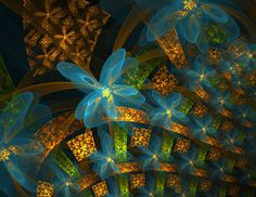 Today we're featuring 40 fractal images created using Apophysis. It's a free Windows program for designing and rendering fractal flames. You can download the software for free at SourceForge  Recently, Apophysis has been getting more and more popular among the community of DeviantArt. Apophysis, and competing fractal product UltraFractal, are the most popular fractal software used by fractal artists on deviantART. Here are some of the most stunning examples that we've found online...
