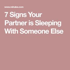 signs your husband is in love with someone else
