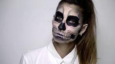 Halloween 2015: réaliser un maquillage épouvantable d'un squelette effrayant !