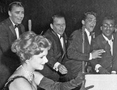Rat Pack & sparkly girl