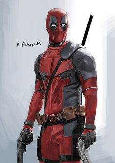 #Deadpool #Fan #Art. (Mr. Deadpool) By: Smilie5768. (THE * 5 * STÅR * ÅWARD * OF: * AW YEAH, IT'S MAJOR ÅWESOMENESS!!!™) ÅÅÅ+