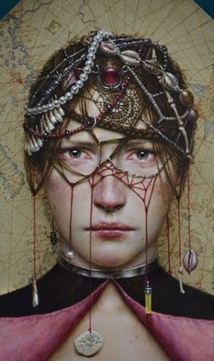 Dino Valls is a self-taught Spanish artist whose work is influenced by Italian Renaissance and Flemish art, as well as modernism. The way he frames his work reminds us of lofty and mysterious medieval religious art of years gone by, but he invests his pieces with modern psychological and symbolic slants. He is a skilful …