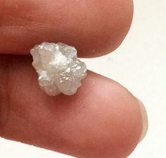 White Rough Diamond White Raw Diamond Uncut by gemsforjewels