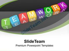 Lego Blocks Illustrating Teamwork Unity PowerPoint Templates PPT Backgrounds For Slides 0113 #PowerPoint #Templates #Themes #Background