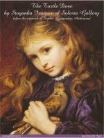 """Adapted from artwork """"Girl with Turtledove"""" by Sophie Anderson (Art Goblen) Sophie Anderson, Art For Kids, Mona Lisa, Disney Characters, Fictional Characters, Cross Stitch, Fine Art, Gallery, Artwork"""