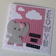 Moostly Cards & Crochet: Een baby geboren... #2