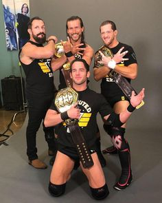 The Undisputed Era: Bobby Fish, Adam Cole, Kyle O'Reilly & Roderick Strong Bobby Fish, Wwe Raw And Smackdown, Wwe Total Divas, Adam Cole, Wwe Champions, Wrestling Wwe, Wwe News, John Cena, Professional Wrestling