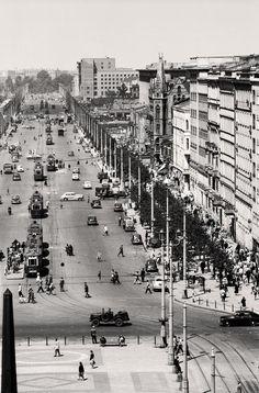 Warszawa z czasów Tyrmanda, lata 50.