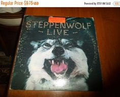 Save 70% Today Vintage 1970 LP Record Steppenwolf Live Two Record Set Dunhill Records DSD-50075 Very Good Condition