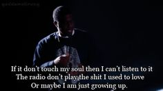 BIG K.R.I.T.   *** its true!! Everything is so different now . There are still some awesome artists out there, but way less than before. Maybe its how every diff generation feels but I dnt know. I still feel like a teenager,& still listen to my old stuff.