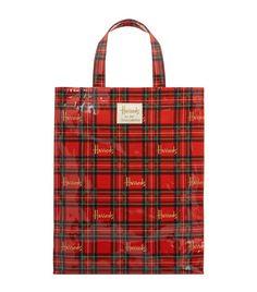 Harrods Medium Royal Stewart Tartan Shopper Bag | Harrods