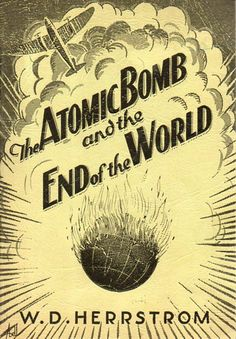 #Atomic bomb in the Bible? Wrritten by Holocaust denier, 1945.