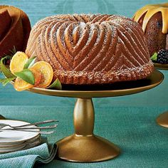 Brown Sugar-Bourbon Bundt | The Daily Cake | MyRecipes.com