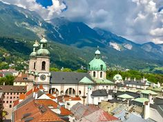 Top 5 things to do in Innsbruck, Austria Innsbruck, Alps, Austria, Stuff To Do, Things To Do, Europe, River, Mansions, House Styles