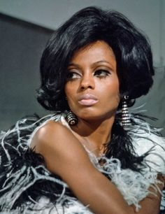BEST BEAUTY LOOKS IN BLACK HISTORY DIANA ROSS Diana Ross of The Supremes.