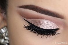 Cut crease on my lovely model @april_ivette Will post video for this look next