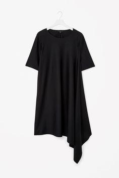 COS | Asymmetric jersey dress