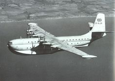 """Saunders-Roe was building large flying boats after the war: """"The Princess"""""""
