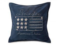 Lexington Denim Flag Sham - Lexington Company