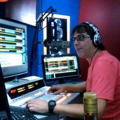 Locutor DJ Banana - Rádio AM/FM de Exemplo
