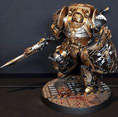 Warhammer 40k Figures, Warhammer Paint, Warhammer Models, Warhammer 40k Miniatures, Warhammer Fantasy, Warhammer 40000, Legio Custodes, Warhammer 40k Space Wolves, Grey Knights