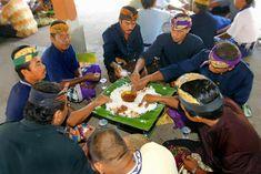Megibung, Makan Bersama Masyarakat Karangasem Bali