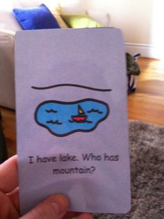 I have, Who Has? Geography Game