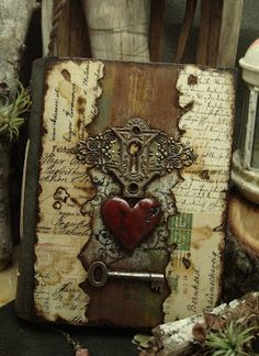 Altered Alchemy Gallery: Handmade Journals ~ Her work is truly beautiful and amazing.