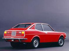 "Fiat 128 coupe My first ""new"" car, August, 1973."