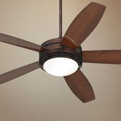 "60"" Casa Province Bronze Outdoor Ceiling Fan - $299.99 +Free Shipping/Free Returns"