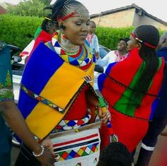 Ndebele bride- South Africa