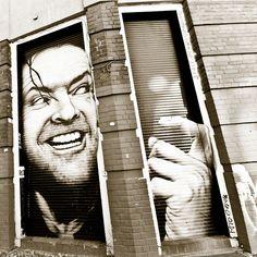 ღღ Jack Nicholson ~ Berlin street art