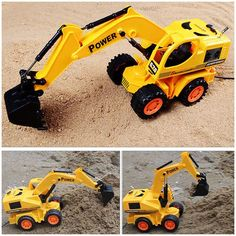 Remote control car excavating machinery Toy car Engineering vehicle birthday gift Festive birthday boy Gift