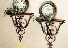 (Buy here: http://appdeal.ru/y9u ) European antique wrought iron wall shelf…