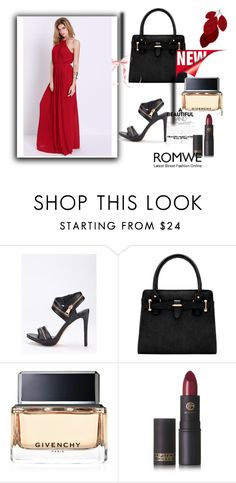 """""""Romwe VIII/10"""" by m-sisic ❤ liked on Polyvore featuring Givenchy and Lipstick Queen"""
